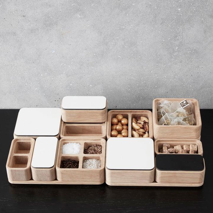 Boîtes Create Me et couvercle d'Andersen Furniture