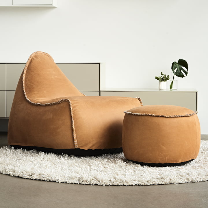 Poufs Retro it Dunes et Drum de Sack it