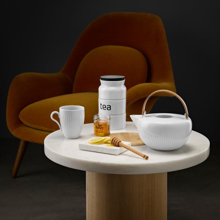 Théière 1 l Legio Nova avec boîte à thé