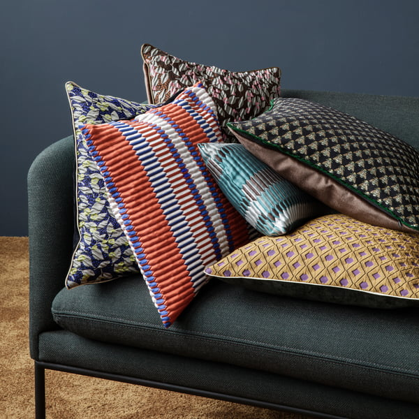 Collection de coussins de salon par ferm Living