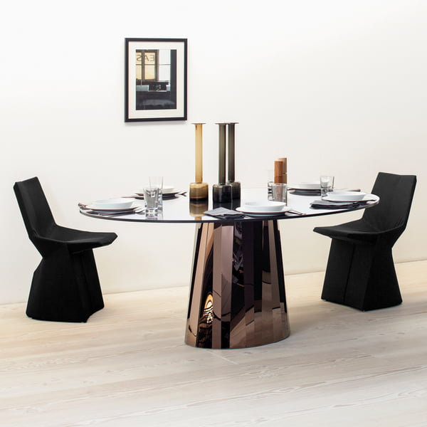 Table de salle à manger Pli de ClassiCon
