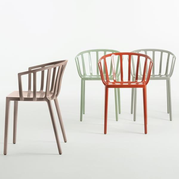 La chaise Venise de Kartell en différentes couleurs
