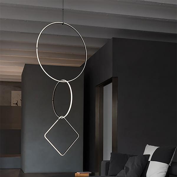 Arrangements Lampe suspendue de Flos - différentes formes en combinaison