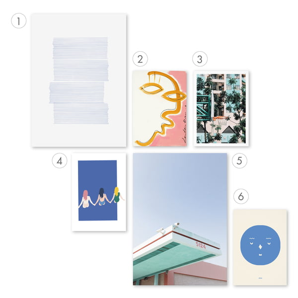 Affiche graphique 3 - Mix & Match 1