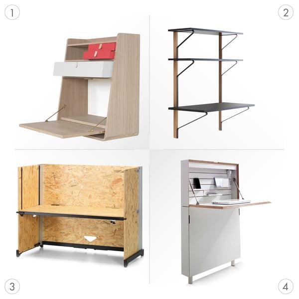 Desk Graphic 3 - différents types