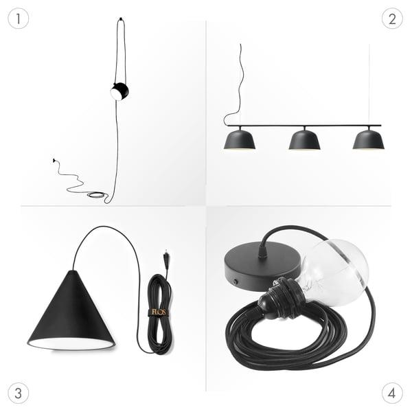 Luminaires suspendus PUK - Graphics - Luminaires suspendus design